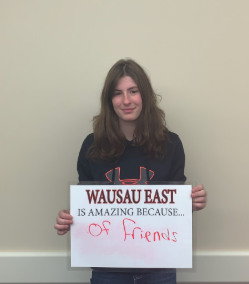 Wausau East Is Awesome Because… Lexi Uttecht (Grade 11)